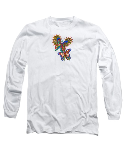 Joyful Flight - I Long Sleeve T-Shirt