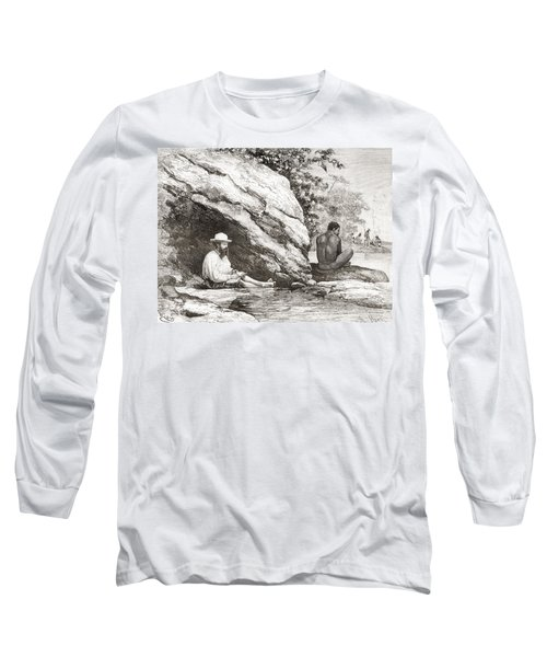 Jules Crevaux, During His Exploration Long Sleeve T-Shirt