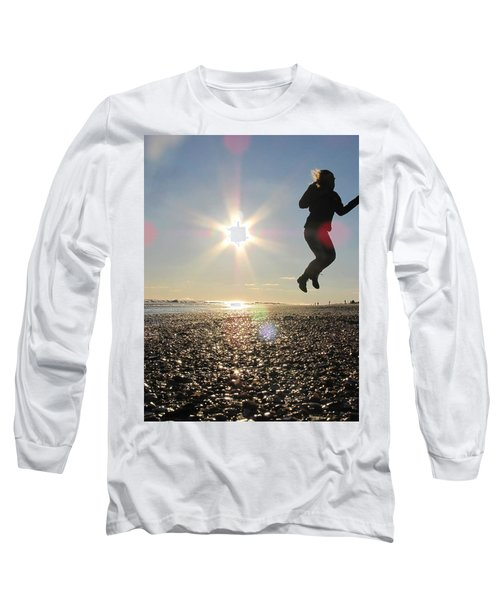 Jumping In The Sun Long Sleeve T-Shirt