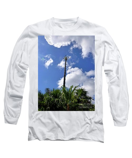 Long Sleeve T-Shirt featuring the photograph Jungle Bungee Tower by Francesca Mackenney
