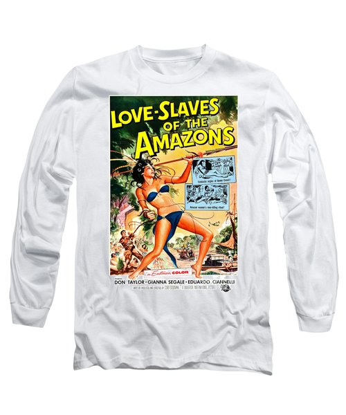 Jungle Movie Poster 1957 Long Sleeve T-Shirt
