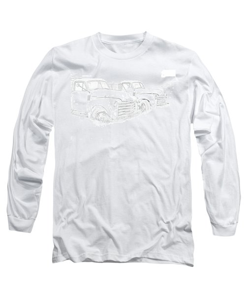 Junkyard Finds Long Sleeve T-Shirt by Jeffrey Jensen