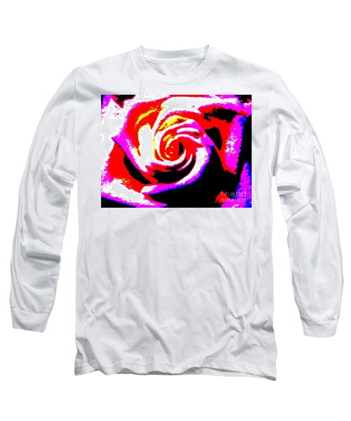 Just A Rose Long Sleeve T-Shirt by Tim Townsend