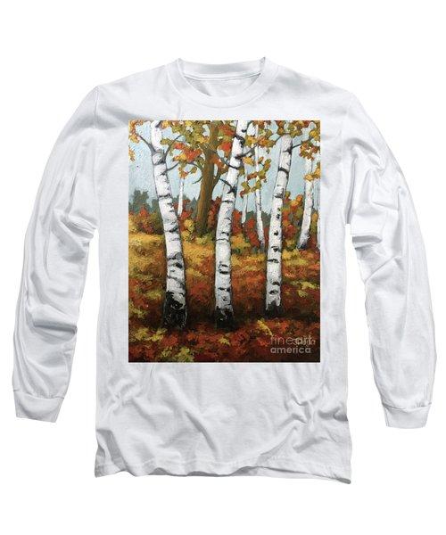 Just Birches Long Sleeve T-Shirt