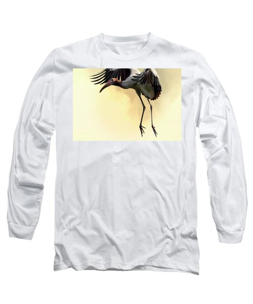 Just Dropping In Long Sleeve T-Shirt by Cyndy Doty