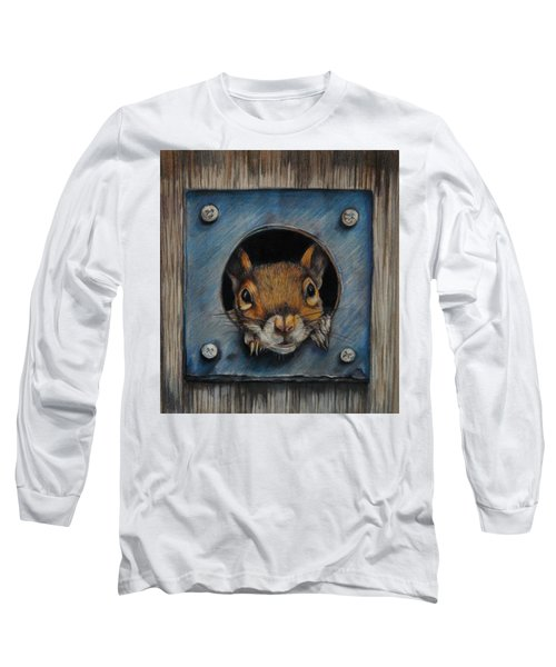Just Hanging Out Long Sleeve T-Shirt by Jean Cormier