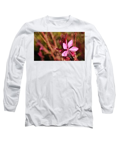 Just In Pink Long Sleeve T-Shirt by Werner Lehmann