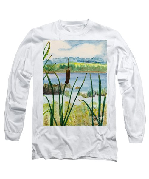 Just One Cattail Long Sleeve T-Shirt