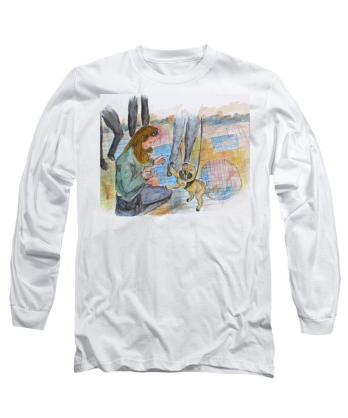 Just One More Long Sleeve T-Shirt by Clyde J Kell