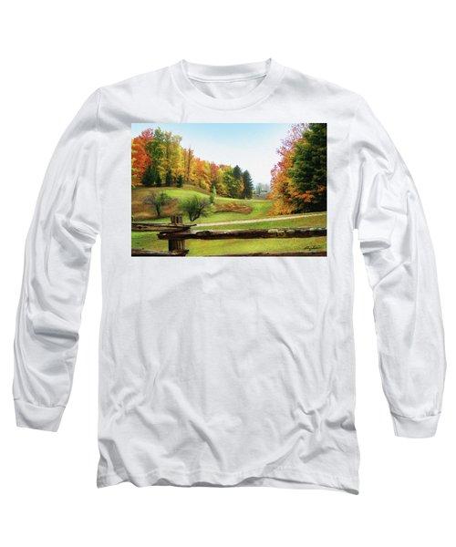 Just Over The Next Ridge Long Sleeve T-Shirt