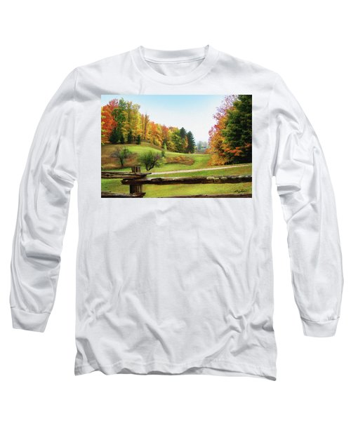 Just Over The Next Ridge Long Sleeve T-Shirt