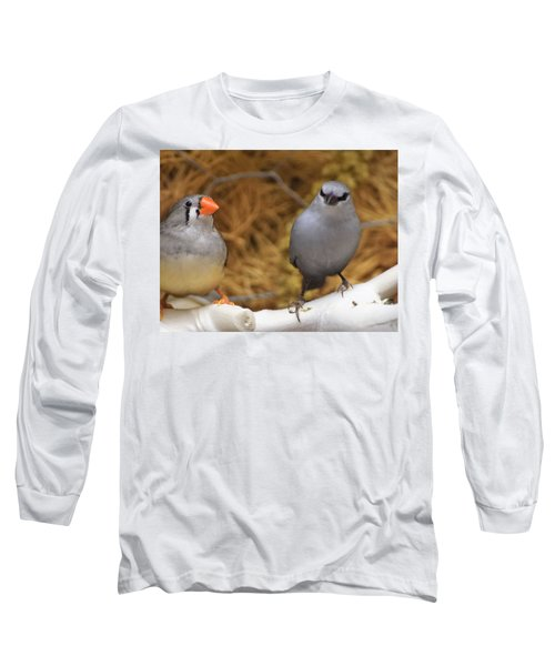 Just Passing The Time Long Sleeve T-Shirt by John Glass