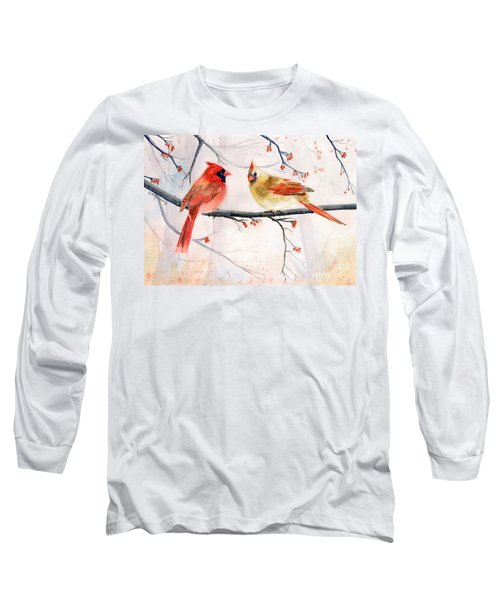 Just The Two Of Us Long Sleeve T-Shirt by Melly Terpening