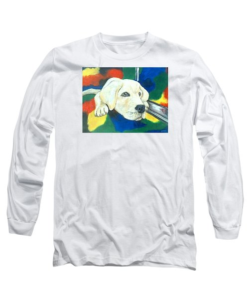 Just Waiting Long Sleeve T-Shirt by Jenny Pickens