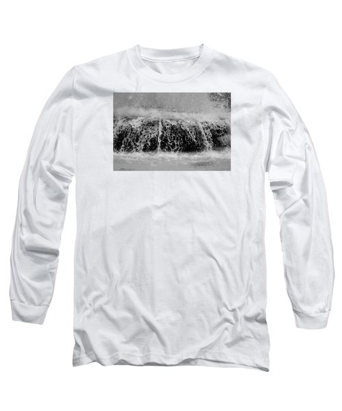 Just Water Long Sleeve T-Shirt by Dorin Adrian Berbier