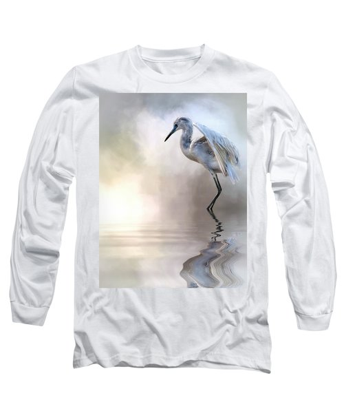Juvenile Heron Long Sleeve T-Shirt