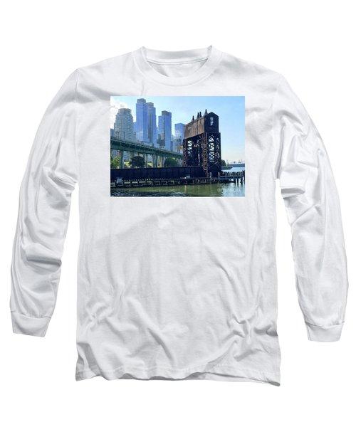 Juxtaposition Long Sleeve T-Shirt by Beth Saffer