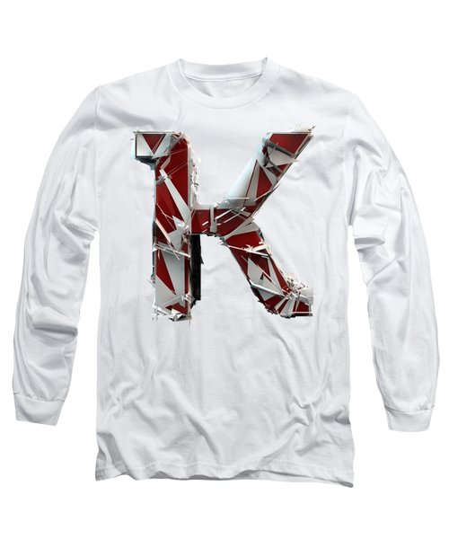 K Is For King Long Sleeve T-Shirt