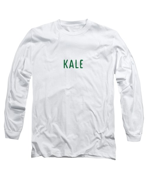 Kale Long Sleeve T-Shirt by Cortney Herron