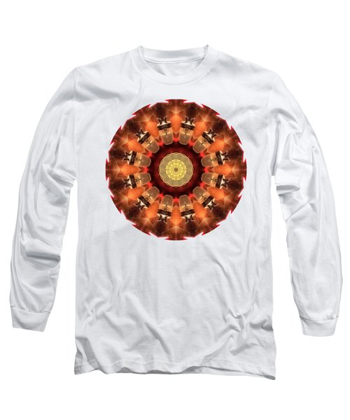 Long Sleeve T-Shirt featuring the photograph Kaleidos - Babalou01 by Jack Torcello