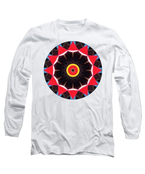 Long Sleeve T-Shirt featuring the photograph Kaleidos - Babalou02 by Jack Torcello