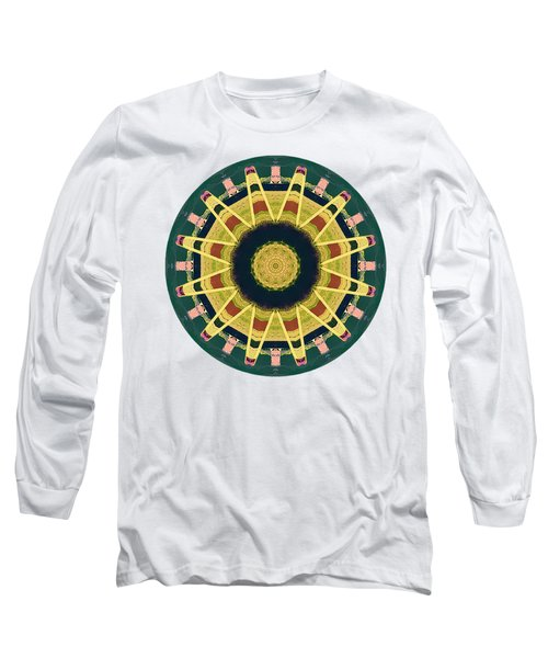 Long Sleeve T-Shirt featuring the photograph Kaleidos - Grindavik01 by Jack Torcello