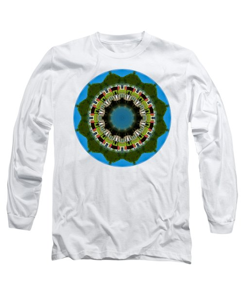 Long Sleeve T-Shirt featuring the photograph Kaleidos - Hyannis02 by Jack Torcello