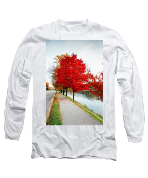 Kanawha Boulevard In Autumn Long Sleeve T-Shirt