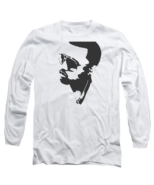 Kanye West Silhouette Long Sleeve T-Shirt
