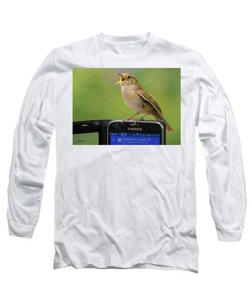 Karaoke Wren Long Sleeve T-Shirt