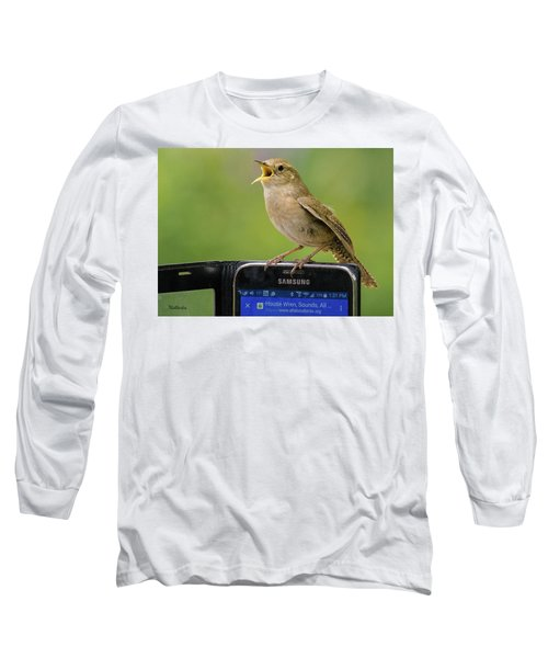 Karaoke Wren Long Sleeve T-Shirt