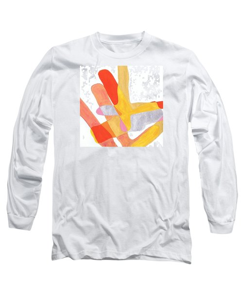 Karlheinz Stockhausen Tribute Falling Shapes Long Sleeve T-Shirt by Dick Sauer