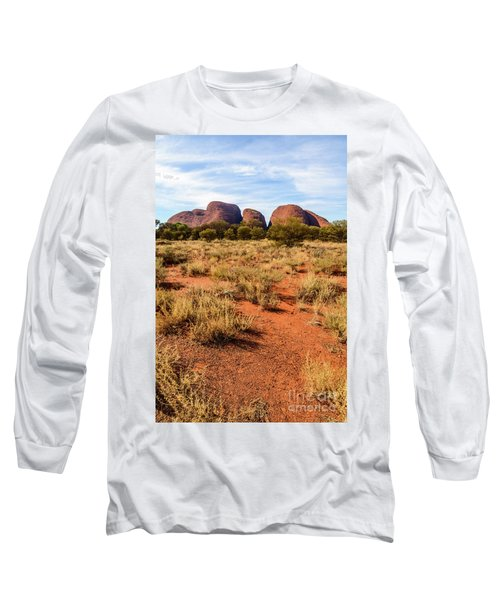 Long Sleeve T-Shirt featuring the photograph Kata Tjuta 07 by Werner Padarin