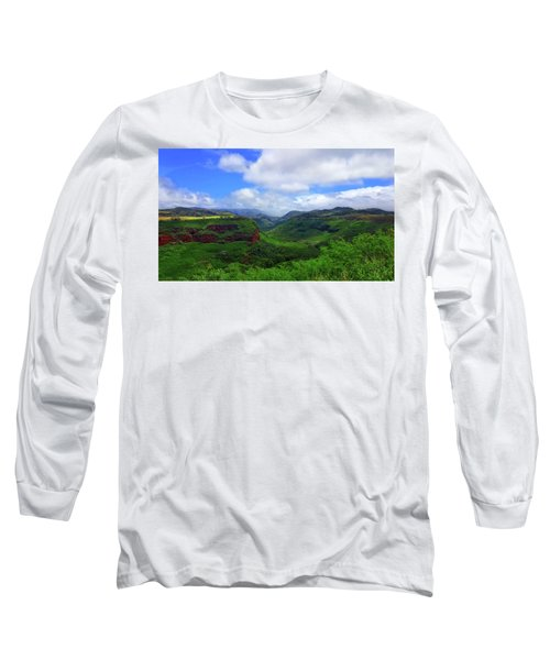 Kauai Mountains Long Sleeve T-Shirt
