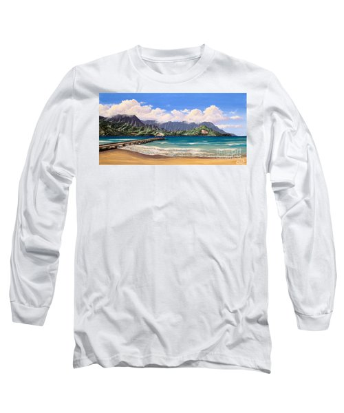 Kauai Surf Paradise Long Sleeve T-Shirt