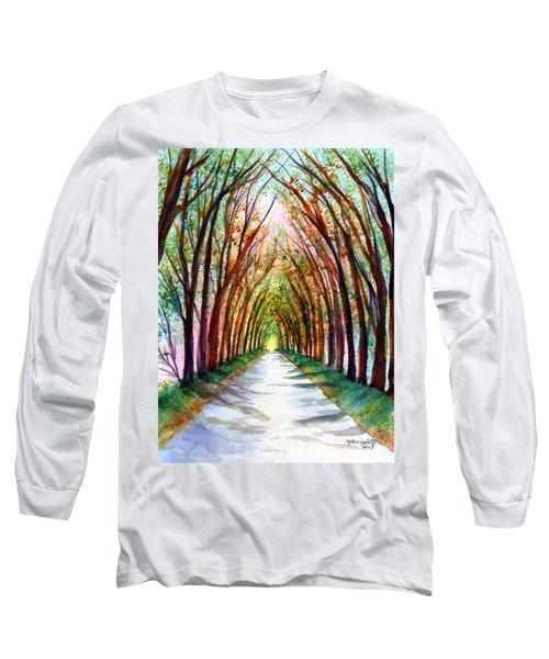 Kauai Tree Tunnel 4 Long Sleeve T-Shirt