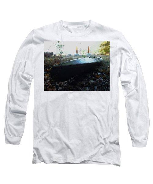 Kayak Long Sleeve T-Shirt by Mark Alan Perry