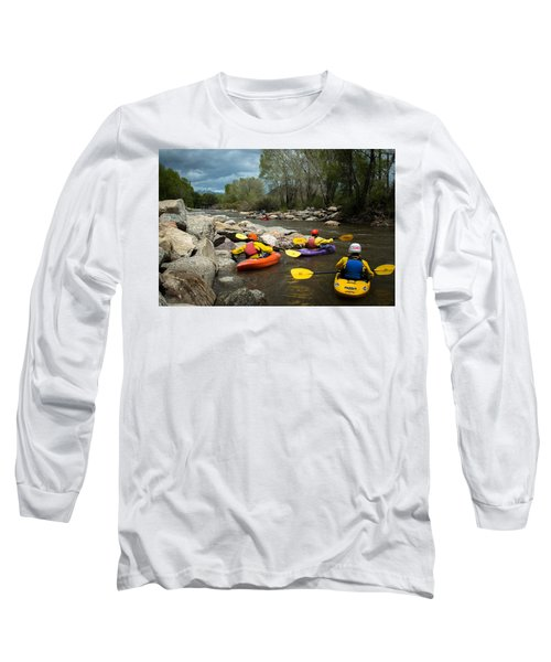 Kayaking Class Long Sleeve T-Shirt