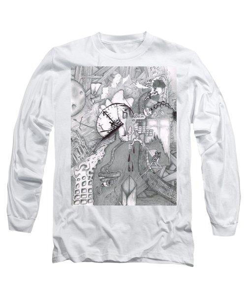Kayla Dan Collaboration Long Sleeve T-Shirt by Dan Twyman