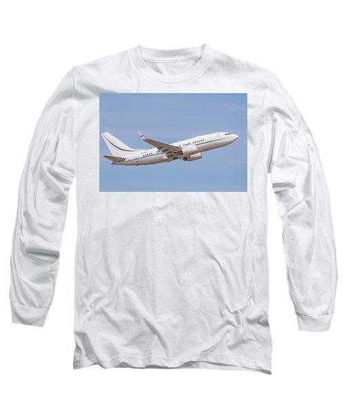 Kazakhstan Government Boeing 737 Long Sleeve T-Shirt