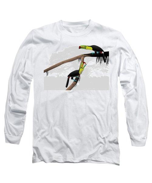 Keel-billed Toucans Long Sleeve T-Shirt