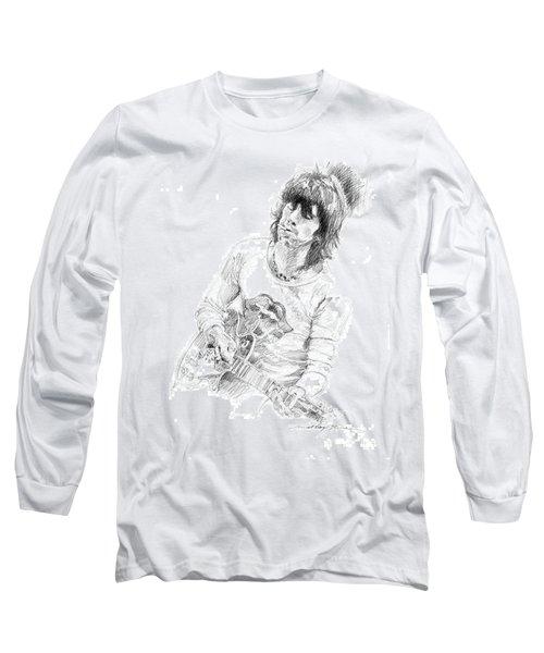 Keith Richards Exile Long Sleeve T-Shirt