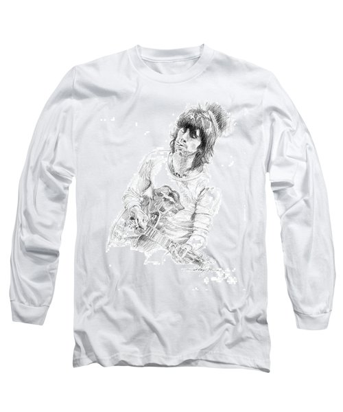 Keith Richards Exile Long Sleeve T-Shirt