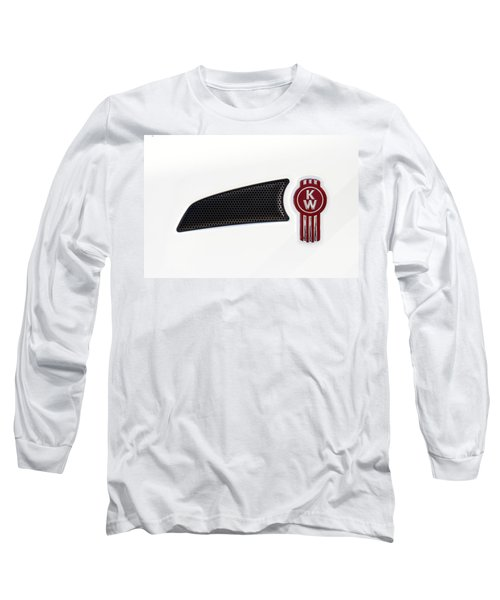 Ken Worth White Tractor 041418 Long Sleeve T-Shirt