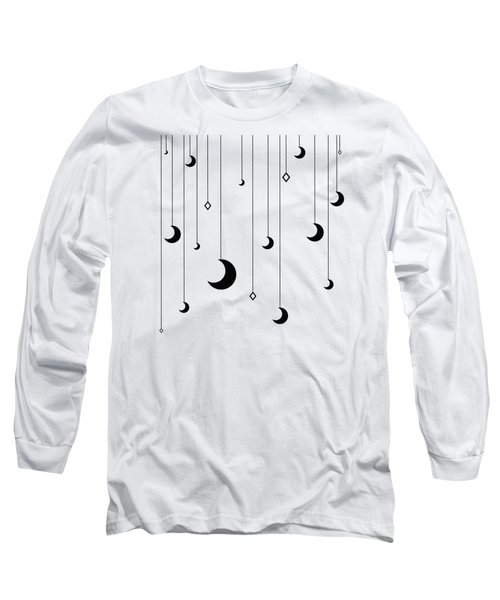 Kenneh's Dream In Black And White Long Sleeve T-Shirt