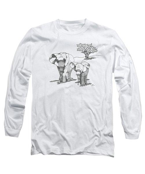 Kenyan Walk Long Sleeve T-Shirt