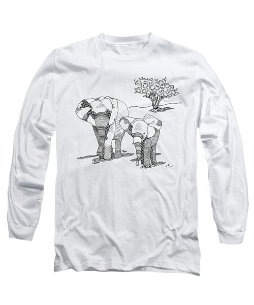Kenyan Walk Long Sleeve T-Shirt