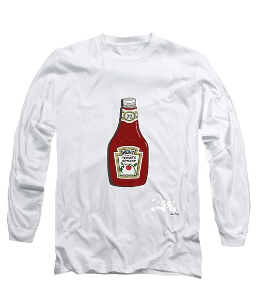 Ketchup Long Sleeve T-Shirt by George Pedro