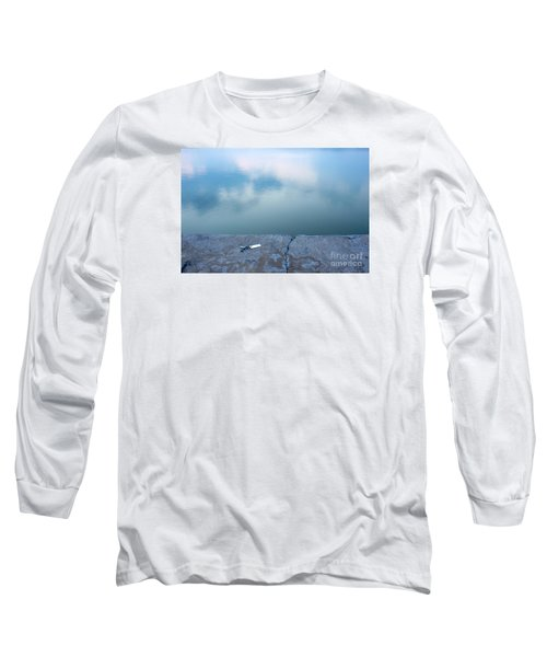 Key On The Lake Shore Long Sleeve T-Shirt by Odon Czintos