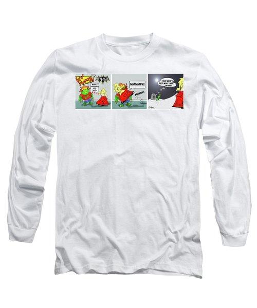 Kid Monsta Triptych 3 Long Sleeve T-Shirt